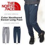 ショッピングNORTH スウェット パンツ THE NORTH FACE ザ・ノースフェイス Color Heathered Sweat Long Pant カラーヘザード スウェット ロングパンツ メンズ  2017秋冬新作 ロゴ