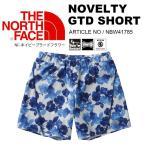 送料無料 ランニング パンツ THE NORTH FACE ザ・ノースフェイス  Novelty GTD Short ノベルティー GTD ショーツ 花柄 レディース トレイル トレーニング