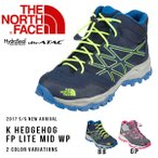 ショッピングノースフェイス トレッキングシューズ ザ・ノースフェイス THE NORTH FACE K ヘッジホッグ ファストパック ライト ミッド 子供 キッズ アウトドア 登山 ブーツ