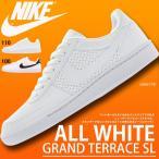 スニーカー ナイキ NIKE メンズ 紳士 グランド テラス SL シューズ 靴 ナイキスニーカー 654495 ロウカット 得割20 ホワイト ブラック