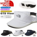 UV サンバイザー THE NORTH FACE ザ・ノースフェイス GTD Visor nn41772 メンズ レディース ランニング トレイル 帽子 ストレッチ 吸汗速乾 キャップ