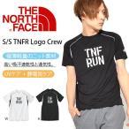 ショッピングNORTH UV 半袖Tシャツ THE NORTH FACE ザ・ノースフェイス メンズ S/S TNFR Logo Crew ショートスリーブ TNFR ロゴクルー 2018春夏新作 TNF RUN