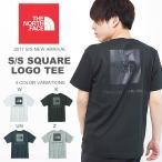 半袖Tシャツ THE NORTH FACE ザ・ノースフェイス メンズ バックプリント S/S Square Logo Tee ショートスリーブスクエアロゴティー 2017春夏新作 nt31733 速乾