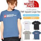 UV 半袖Tシャツ THE NORTH FACE ザ・ノースフェイス TNF Square Logo Tee TNF スクエア ロゴティー メンズ 2018春夏新作 紫外線防止