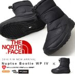 ショッピングスノーシューズ ヌプシ ブーツ ザ・ノースフェイス THE NORTH FACE Nuptse Bootie WP IV メンズ レディース アウトドア スノー シューズ 靴 nf51585 撥水 ブラック 黒