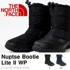 軽量 ヌプシ ショート ブーツ ザ・ノースフェイス THE NORTH FACE Nuptse Bootie Lite II WP メンズ アウトドア スノー 撥水 無料