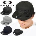 ロゴ キャップ OAKLEY オークリー メンズ OAKLEY ロゴ 帽子 CAP 平つば ニューエラ ストリート スケートボード アウトドア FOS900728 2021秋冬新作 得割15