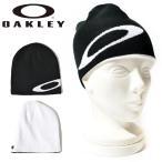 【最大23%還元】 ニット帽 リバーシブル OAKLEY オークリー メンズ BEANIE ELLIPSE ロゴ ビーニー 帽子 ニットキャップ スノーボード スキー