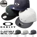 ショッピングoakley ロゴキャップ OAKLEY×NEW ERA オークリー メンズ O-JUSTABLE METAL HAT ニューエラ コラボ 帽子 CAP スナップバック 2017春夏新色