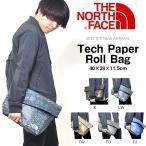 ショッピングクラッチ 数量限定 クラッチバッグ THE NORTH FACE ザ・ノースフェイス Tech Paper Roll Bag テックペーパーロールバッグ 2017春夏新作 サブバッグ