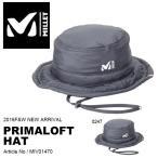 プリマロフト ハット ミレー MILLET メンズ レディース  帽子 撥水加工  PRIMALOFT HAT 登山 ハイキング アウトドア 送料無料 30%off