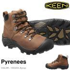 ショッピングトレッキングシューズ 現品限り トレッキングシューズ KEEN キーン 靴 メンズ Pyrenees ピレニーズ 防水 ミッドカット アウトドア 登山 ブーツ 靴 送料無料