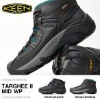 ショッピングトレッキングシューズ 防水トレッキングシューズ KEEN キーン メンズ Targhee II Mid WP アウトドアスニーカー 靴