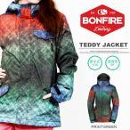 スノーボードウェア ボンファイア BONFRE レディース TEDDY  JACKET ジャケット スノボ 得割40 送料無料