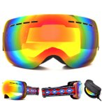 スノーボード ゴーグル メンズ レディース  ミラー 球面 レンズ スキー ダブルレンズ アンチフォグ SNOWBOARD 16-17 2016-2017冬新作