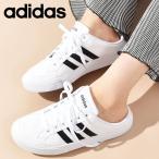 スニーカー かかとなし アディダス adidas メンズ レディース ADISET MULE U ミュール シューズ 靴 スリッポン サンダル