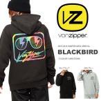 長袖 パーカー VONZIPPER ボンジッパー メンズ BLACKBIRD ロゴ プルオーバー 日本正規品  25%off 15-16