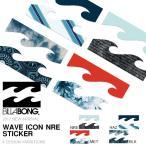 ネコポス便対応可能!ステッカー ビラボン BILLABONG 14.5cm ロゴ シール スノーボード スケートボード サーフボード