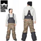 スノーボードウェア ROME SDS ローム メンズ HOWL PANTS オーバーオール ビブパンツ 50%off