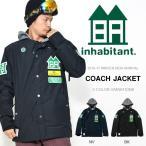 スノーボード ウエア inhabitant インハビタント COACH JACKET コーチジャケット メンズ  ウエア スノー  20%off