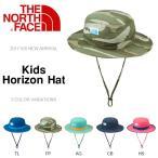 UVカット ハット ザ・ノースフェイス THE NORTH FACE Kids Horizon Hat キッズ ホライゾン ハット 帽子 2017春夏新作 子供 紫外線 日差し防止