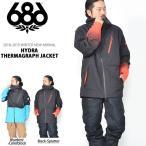 スノーボードウェア 686 SIX EIGHT SIX Hydra Thermagraph JACKET メンズ ジャケット ス