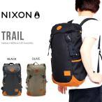 ショッピングバック バックパック NIXON ニクソン TRAIL BACKPACK デイパック リュックサック メンズ レディース  BAG かばん 鞄 カバン トレイル