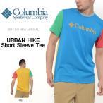 ショッピングコロンビア 半袖Tシャツ コロンビア Columbia メンズ URBAN HIKE Short Sleeve Tee アウトドア ロゴTシャツ 2017春夏新作 10%off