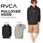 プルオーバーパーカー RVCA ルーカ メンズ AJ041016 AJ041-016 PULLOVER HOOD ロゴ フーディー 2019春新作 30%off
