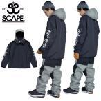 スノーボードウェア SCAPE エスケープ COACH JACKET メンズ ジャケット  コーチジャケット コラボ  25%off