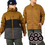 送料無料 スノーボードウェア 686 シックスエイトシックス Authentic Smarty Form Jacket メンズ ジャケット 15-16 得割30