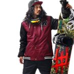スノーボード ウェア メンズ スタジャン ジャケット スキー
