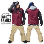 スノーボード ウェア 上下 セット メンズ スタジャン ジャケット パンツ スノーボード SNOWBOARD