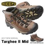 ショッピング登山 トレッキングシューズ KEEN キーン メンズ Targhee II Mid ターギー 2 ミッド 防水 アウトドア 登山 ブーツ 靴 送料無料