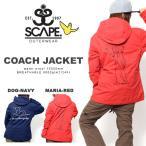 スノーボードウェア SCAPE エスケープ COACH JACKET レディース ジャケット   コーチ マーク ゴンザレス コラボ 40%off