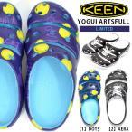 限定コラボカラー キーン KEEN メンズ YOGUI ARTSFULL ヨギ アーツフル 軽量 サンダル クロッグサンダル ヨギー アウトドア フェス 国内正規品
