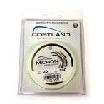 CORTLAND(コートランド) ミクロンバッキングライン イエロー 20lb/100yd