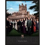 Imperialミント051411sh01Downton Abbey Season 4額入り壁アートPostage Stamp