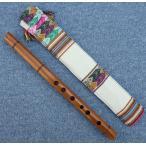 WOOD-C2  ケーナ 木製 民族楽器 フォルクローレ楽器 ペルー アンデス INKA