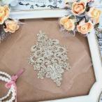 ゴールド モチーフ キラキラ 刺繍チュール ダンス ハンドメイド 衣装 装飾
