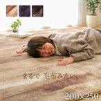ラグ カーペット 3畳 洗える 6畳 おしゃれ シャギー 絨毯 年中 無地 ラグマット 洗濯 防音 長方形 厚手 格安 シンプル 200×250