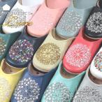 モロッコ バブーシュ mocororo luxe モコロロ レディース 本革 ビーズ スパンコール ルームシューズ スリッパ 室内 来客用 携帯用 フラワー 花