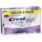 ホワイトニング歯磨き粉 クレスト Crest 3D ホワイト ステイン 黄ばみ ヤニ落とし 口臭予防 送料無料 White Brilliance 116g