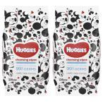 ハギーズ Huggies 除菌 ワイプ 2個セット 殺菌 クレンジング シート 携帯 コンパクト フェノキシエタノール 抗菌 衛生 清潔 予防