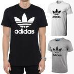 アディダス オリジナルス adidas トレフォイル Tシャツ トップス メンズ ブラック/ホワイト/グレー