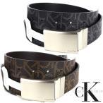 CK カルバンクライン Calvin Klein リバーシブル CKロゴ 合成皮革 ベルト メンズ アクセサリー ブラック 父の日 プレゼント