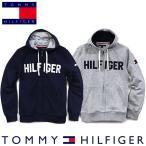 トミーヒルフィガー Tommy Hilfiger メンズ ジップアップ パーカー フーディ ファッション グレー/ネイビー
