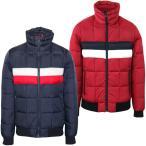 トミーヒルフィガー Tommy Hilfiger メンズ 中綿 ジャケット ダウン風 ロゴ ファッション アウター フラッグカラー 防寒 防風 あったか