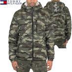 トミーヒルフィガー Tommy Hilfiger メンズ 中綿 ジャケット ダウン風 ロゴ ファッション アウター 防寒 防風 あったか 迷彩柄