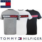 ショッピングトミー トミーヒルフィガー Tommy Hilfiger メンズ クルーネック Tシャツ 半袖 ファッション トップス ブラック/ホワイト